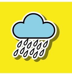 Weather forecast design vector