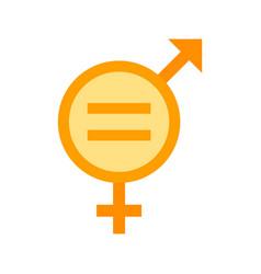 Gender equality vector