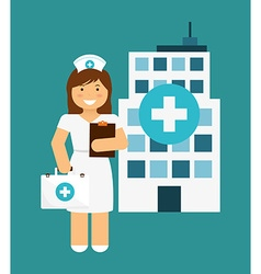 Nurse design vector