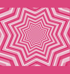 abstract pink geometric design background vector image vector image