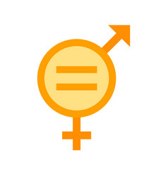 gender equality vector image vector image