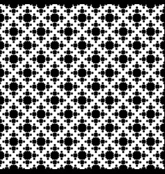 Geometric seamless pattern with octagons vector