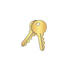Keys computer symbol vector