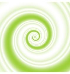 Sea wave twirl vector image