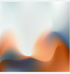 Blurred wave background vector
