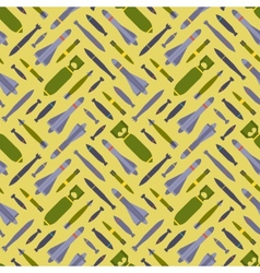Air bobms seamless pattern vector