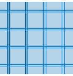 Blue tartan seamless pattern vector