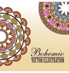 Bohemio icon design vector