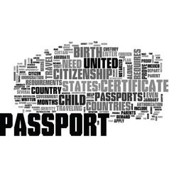 Who needs a passport text word cloud concept vector