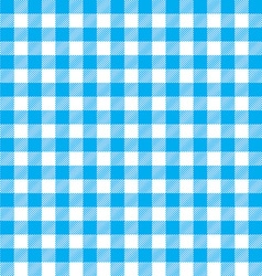 Tablecloth background blue seamless pattern vector