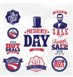 Happy presidents day huge sale vector