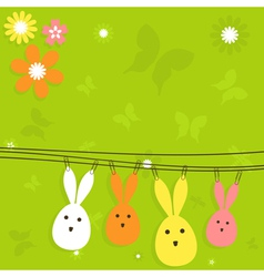 Easter card3 vector