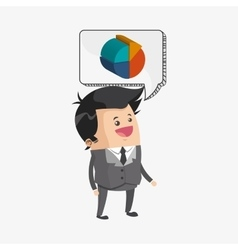 Business design Financial item icon Flat vector image