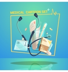 Medical object set vector