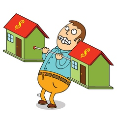 super expensive house vector image