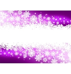 Purple winter background  snowflakes eps 8 vector