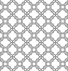 Delicate seamless pattern in oriental style vector image