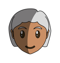 Adult woman cartoon vector