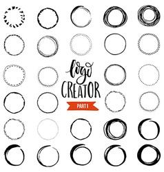 Logo Creator vector image vector image