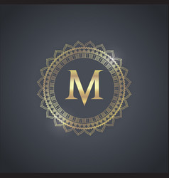 Luxury brand design vector
