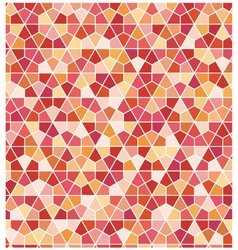 Seamless geometric hexagon pattern vector