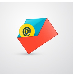 Envelope - e-mail icon vector