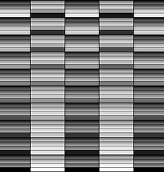 Monochrome gradient geometric squares abstract bac vector