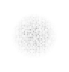 Abstract big data numeric vector
