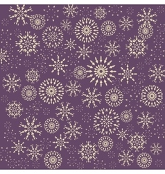Christmas snowflake pattern winter theme texture vector