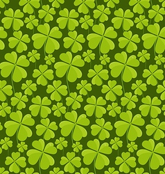 Clovers seamless pattern vector