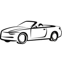 Simple with a car vector