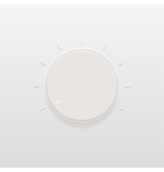 Modern light regulator or control icon vector