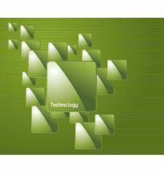 technology theme vector image