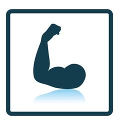 Bicep icon vector image