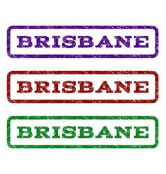 Brisbane watermark stamp vector