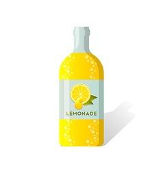 Lemonade bottle vector image vector image