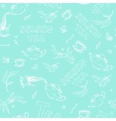Seamless pattern sketch of items bun-fight vector