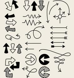 Design Elements Arrows vector image vector image