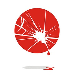 Japan bleeds vector image