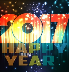 Happy new year 2017 abstract background vector
