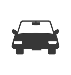 Car auto front icon graphic vector