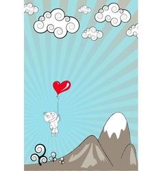 Lover boy vector image
