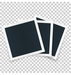 Square image frame set concept single isolated vector