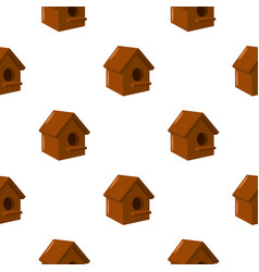 Birdhouse icon of for web and vector