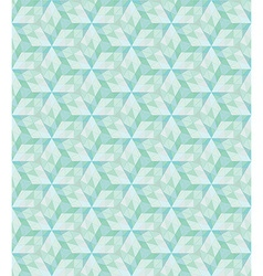 Abstract geometric seamless grid green polygonal vector image