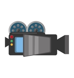 Camera film record movie vector