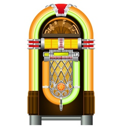 jukebox vector image vector image