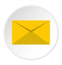 Paper letter icon flat style vector