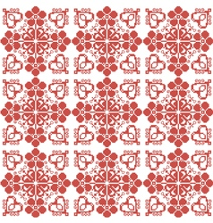 Slavic ornament for embroidery vector image vector image