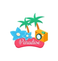 Summer Paradise vector image vector image